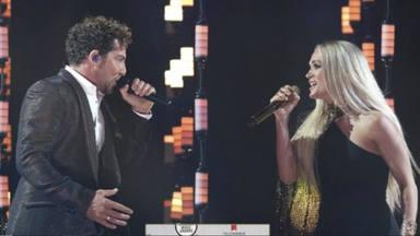La actuación en directo de David Bisbal y Carrie Underwood en 'Tears of Gold' que recordaremos siempre