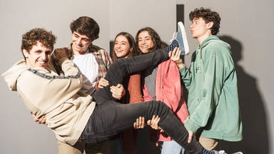 El quinteto La Última Copa actúa en Madrid para dar a conocer su nuevo disco y su single homónimo