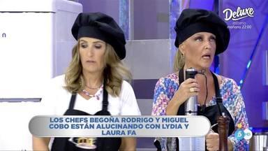Lydia Lozano y Laura Fa, su particular pesadilla en la cocina en La última cena que se ha hecho viral