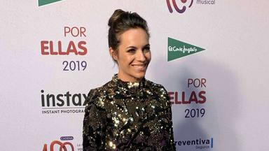 Myriam Rodilla en el photocall de CADENA 100 Por Ellas