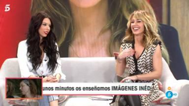 Alejandra Rubio se estrena como colaboradora de Viva la vida