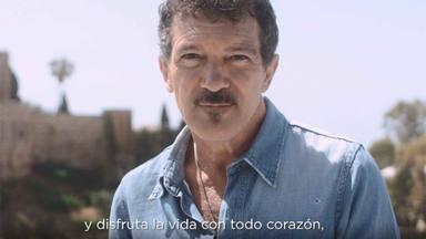 Antonio Banderas imagen de Andalucía