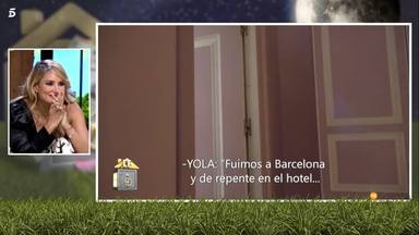 Alba Carrillo se entera de la relación de Yola Berrocal y Feliciano López