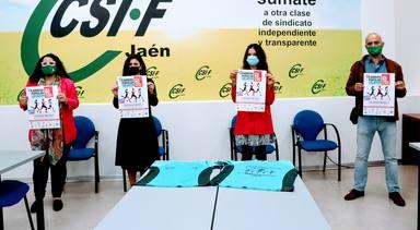 CSIF Jaén pone en marcha junto a Caja Rural de Jaén la VII Carrera Popular por la No Violencia de Género