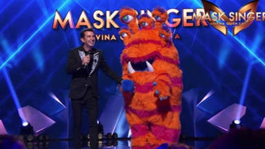 Arturo Valls durante la emisión de 'Mask Singer'