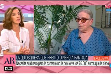 Loli Pozo denuncia que Isabel Pantoja le debe 76.000 euros que le dejó cuando entró en la cárcel