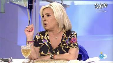 Carmen Borrego deja sin palabras a Paz Padilla con una respuesta sobre 'Sálvame' durante 'La última cena'