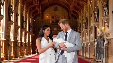 Primer posado oficial de los duques de Sussex con su primer hijo