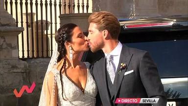 La boda de Pilar Rubio y Sergio Ramos da oxígeno a 'Viva la vida'