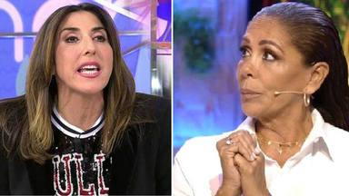 El comentario de Paz Padilla que podía desestabilizar a Isabel Pantoja y su relación con Mediaset
