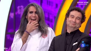 Mario Vaquerizo y Pepe Rodríguez en 'Masterchef celebrity 4'