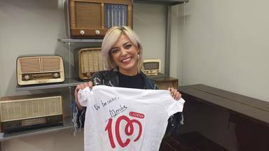 ¿Quieres ganar la camiseta de CADENA 100 firmada por Merche?