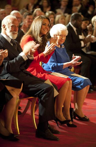 Kate Middleton ha ido a varios eventos con la Reina Isabel