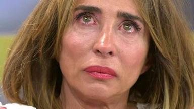 María Patiño, en un momento de debilidad en Sávame