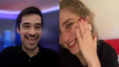 Samantha sorprende a Jordi Cruz