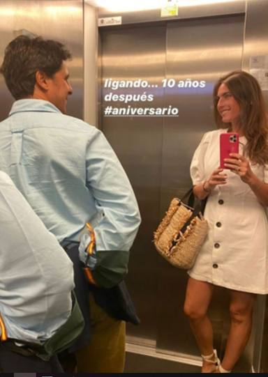 Fran Rivera con Lourdes Montes tras 10 años de casados