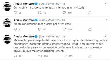 Amaia Montero abandona Twitter tras las críticas