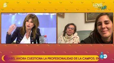 La madre de Anabel Pantoja entra en directo en 'Salvame' para defenderla ante Gema López