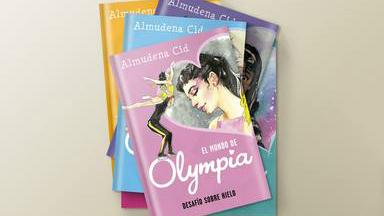 Las lágrimas de Almudena Cid por el homenaje a toda su carrera resumido en el mundo 'Olympia'