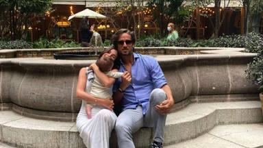 Así fue el emocionante momento que han compartido Sandro Gago y el tenista con su hijo