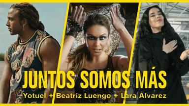 Las cifras que demuestran el éxito de Lara Álvarez en su debut musical