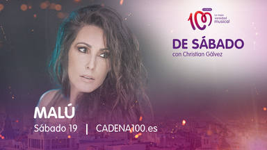 Malú será la invitada de lujo en tu mañana 'De Sábado con Christian Gálvez'