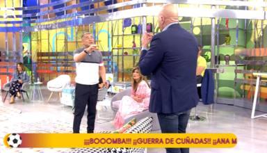 """""""El enano dictador soy yo: Jorge Javier Vázquez no se corta y para los pies a Kiko Matamoros en pleno directo"""