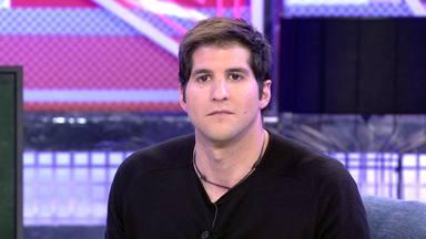 Julián Contreras durante una de sus múltiples intervenciones en el Deluxe de Telecinco