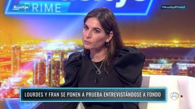 La primera vez de Lourdes Montes en un plató de televisión: salen a la luz sus secretos mejor guardados
