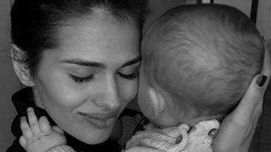 Sara Sálamo compagina su trabajo con su papel como madre