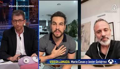 """El cariñoso homenaje de Mario Casas y 'El Hormiguero' a Dani Rovira: """"Es un luchador"""""""