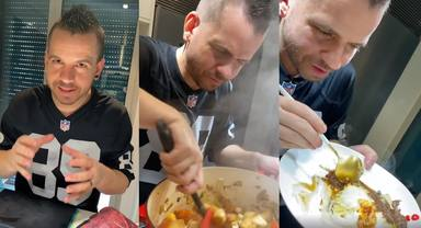 Las fases de disfrute de Dabiz Muñoz en la cocina
