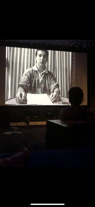 Iker Jiménez revive uno de los primeros programas que se grabó con 14 años