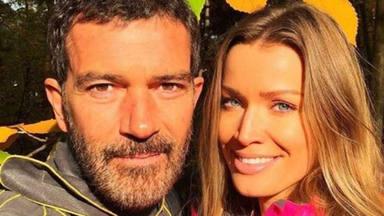 Antonio Banderas se reencuentra con su pareja Nicole Kimpel después de 4 meses separados