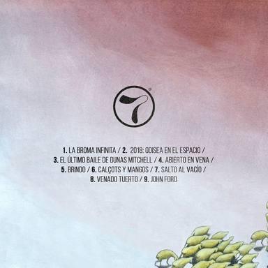 Listado de canciones de La broma infinita, el nuevo álbum de Taburete