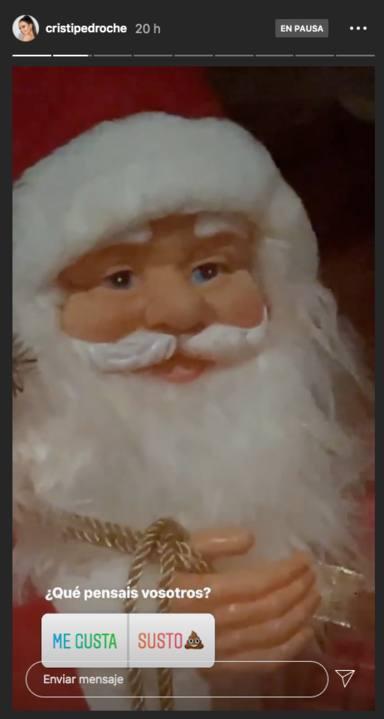 El Papá Noel que asusta a Cristina Pedroche