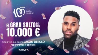 Jason Derulo, artista del día en El Gran Salto de los 10.000 euros de CADENA 100