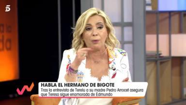 El enigmático mensaje con el que Carmen Borrego se acerca a Olga Moreno: Solo le haría esa pregunta
