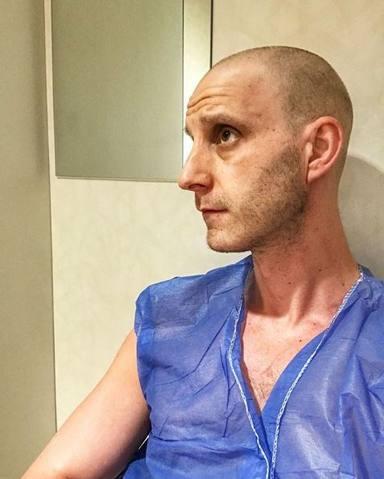 La foto más impactante de Dani Rovira en su lucha contra el cáncer