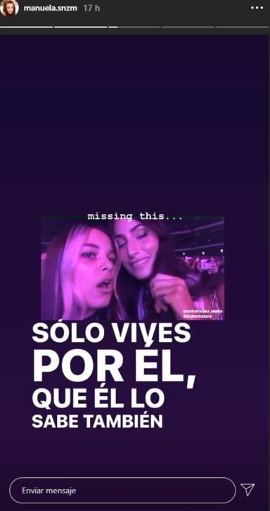 Manuela Sanz junto a Alejandro Sanz y Rachel Valdés