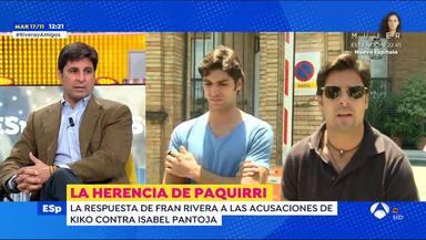 Fran Rivera reaparece tras mostrar su apoyo a su hermano Kiko en la guerra con Isabel Pantoja