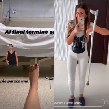 Tamara Gorro artrosis muletas enfermedad