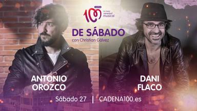 Antonio Orozco y Dani Flaco son los invitados de lujo en 'De Sábado con Christian Gálvez'