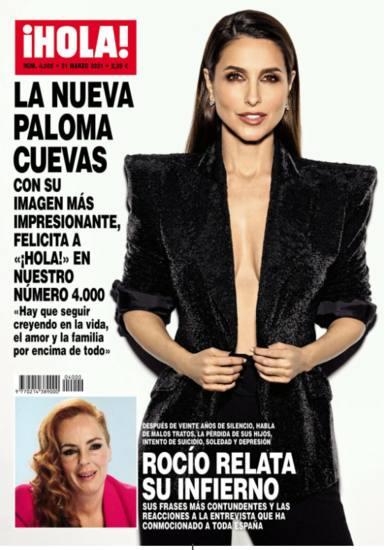 """Paloma Cuevas, radiante, luce su nueva imagen tras su ruptura con Ponce: """"Amor y familia por encima de todo"""