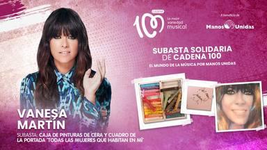 Vanesa Martín tampoco falta a la subasta solidaria de CADENA 100 aportando una hermosa caja de pinturas