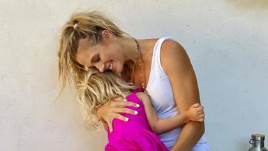 Patricia Montero junto a su hija Layla en una foto de sus redes sociales