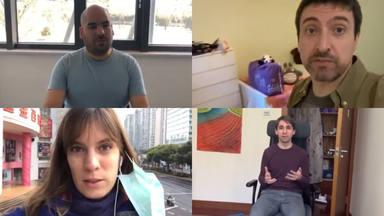 Mensaje de los investigadores españoles en China