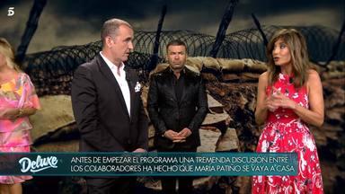 Deluxe: Antonio Montero ataca a María Patiño
