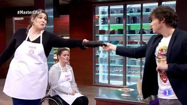 Saray, de 'MasterChef', carga duramente contra Jordi Cruz