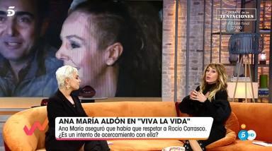 Ana María Aldón se defiende de las críticas en Viva la vida